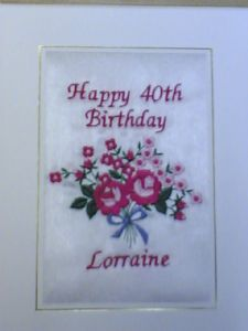 HAPPY BIRTHDAY - Flowers - Pink Roses - Cards